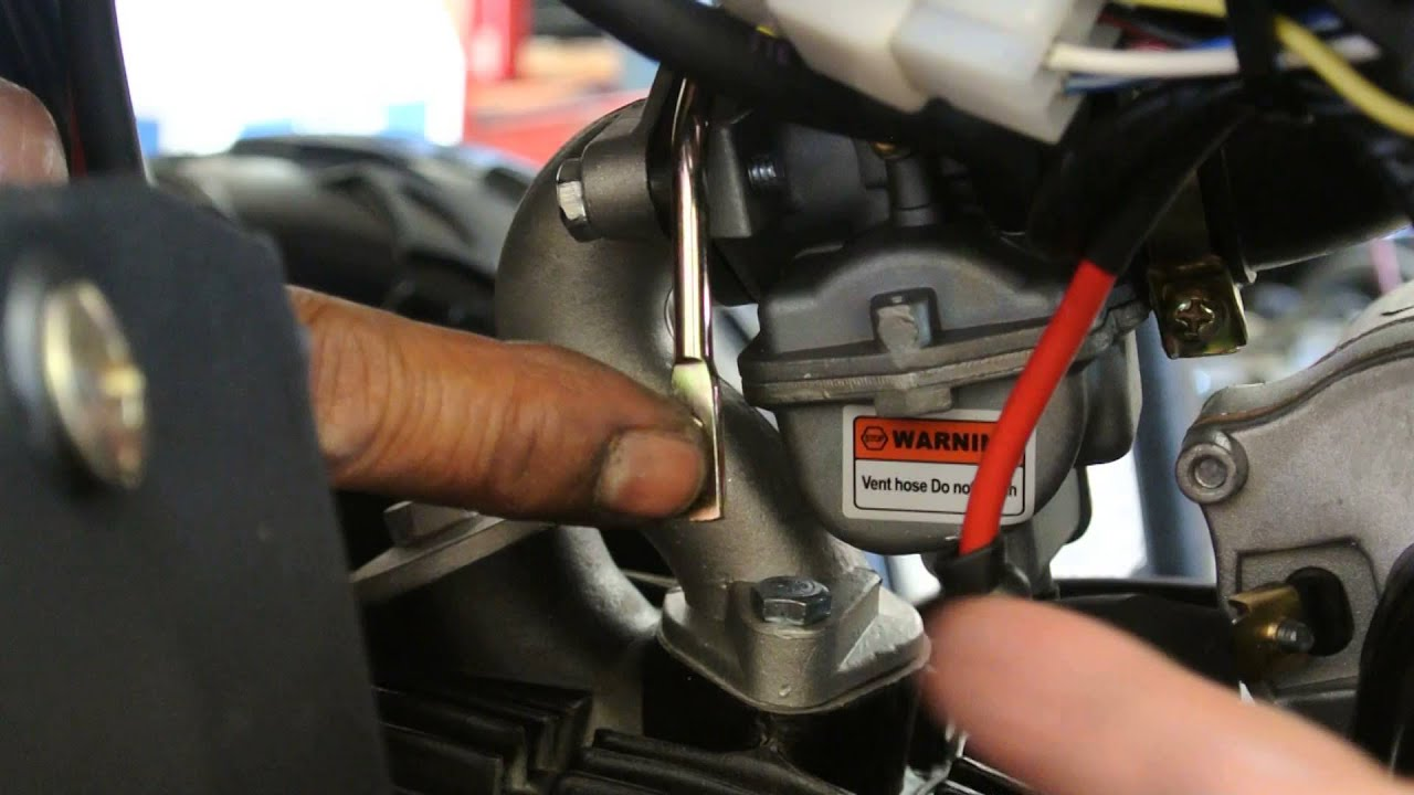 110cc Pit Bike Engine Diagram Atv Choke Lever Youtube