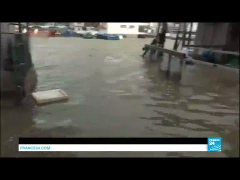 China: Category 10 typhoon Hato wreaks havoc in Hongkong after battering Macau