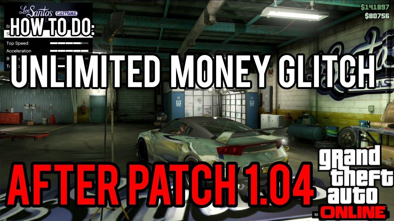 GTA V ONLINE: Old Gen UNLIMITED MONEY Glitch [1.04] [HD] - YouTube
