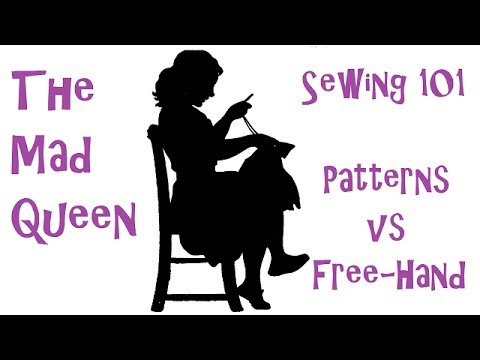 Sewing 101 - Intro and Patterns vs Free-hand - YouTube