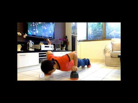 Elastic Fitness Aid Pushup