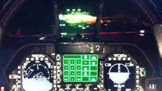 F-18 Night Carrier Landing