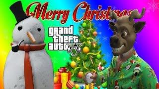 vanossgaming h20 delirious gmod gta 5 online funny moments christmas tree snowman xmas modders