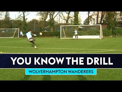 Six Station Shooting Challenge!   Wolverhampton Wanderers   You Know The Drill
