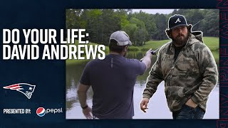 David Andrews Revisits High School & Shares His Loves for Fishing