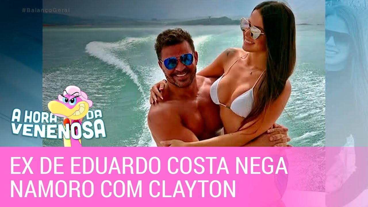 Ex de Eduardo Costa diz que não namora sertanejo envolvido em confusão