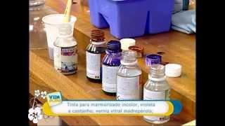 Viviane Mazi - Marmorização em vidro e porcelana - Parte 2 -  Vida Plena  - 10/02/2011