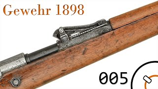 "Small Arms of WWI Primer 005*: German Gewehr 1898 ""Mauser"" Rifle"
