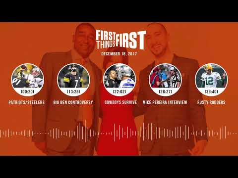 First Things First audio podcast(12.18.17)Cris Carter, Nick Wright, Jenna Wolfe | FIRST THINGS FIRST