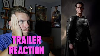 Zack Snyder's Justice League (2021) - DC FANDOME - TRAILER REACTION