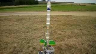 Antares 3B Mainrocket Testflight