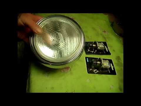 Замена ламп фары мотоцикла на светодиод