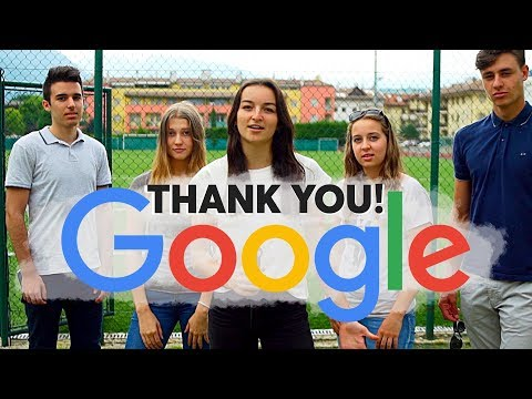 GOOGLE: THANK YOU!