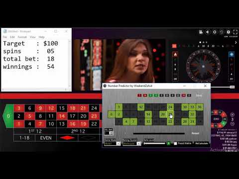 Roulette Number Predictor Software   Working Roulette Winning System Win At Lightning Roulette