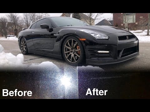 My GTR had the WORST Paint before this!!