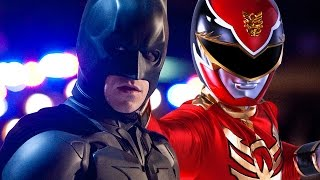The Dark Knight Trilogy (Power Rangers Style)