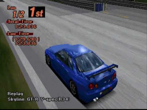 Gran Turismo 2 Arcade - Midfield Raceway