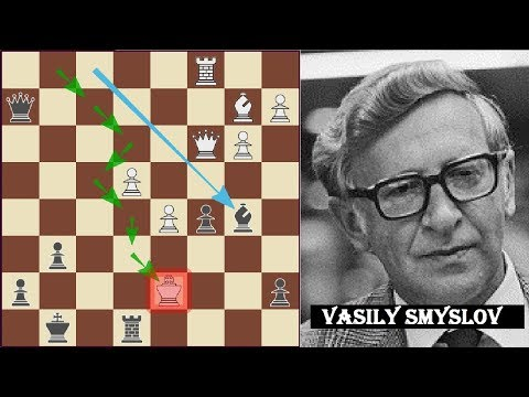 KING moving all over the chess board - Botvinnik vs Smyslov