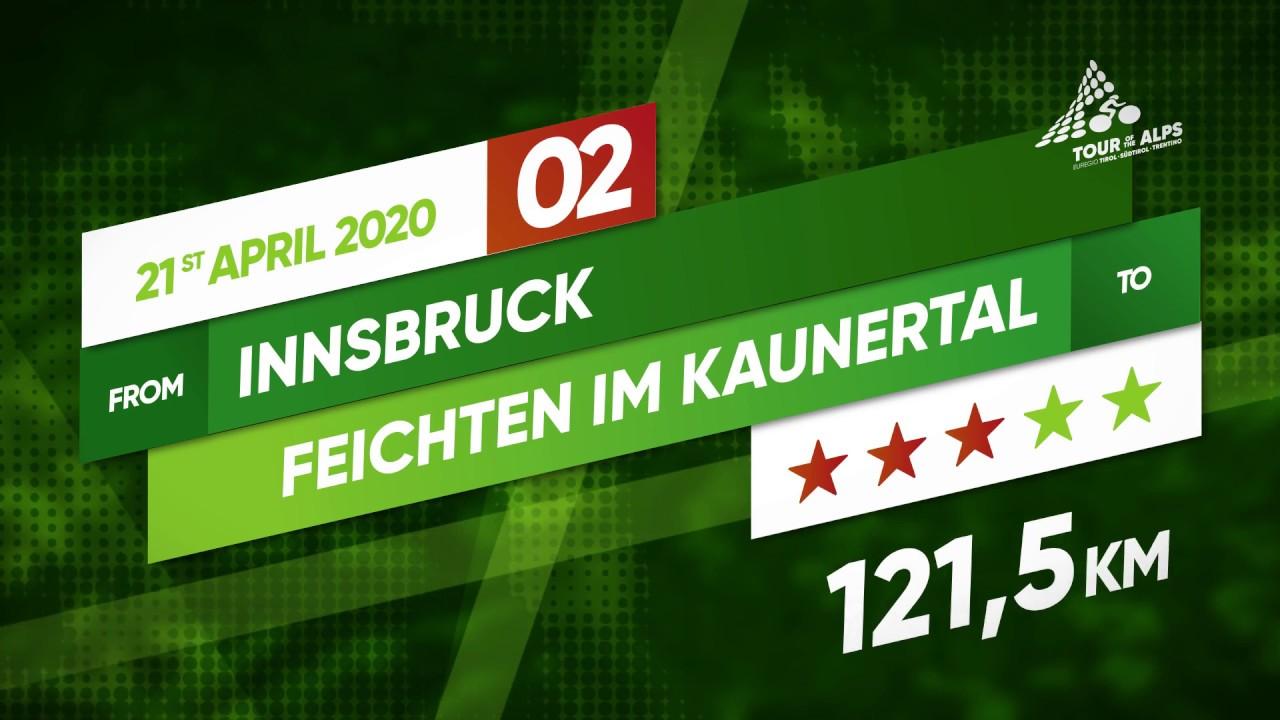 Tour of the Alps 2020 | Stage 2 (Innsbruck - Feichten im Kaunertal)