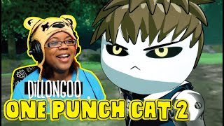 ONE PUNCH CAT 2 Garou the Wolf by dillongoo | Anime Animation Reaction