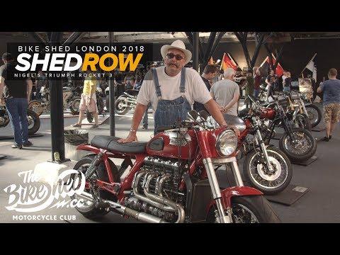 Shedrow : Nigel&#;s Shed Built Triumph Rocket