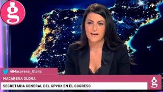 Macarena Olona: 'VOX asumirá el Gobierno de España'