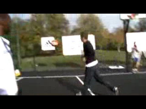 Humiliate Devin Harris (NBA player) in an outdoor stadium