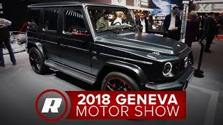Mercedes-Amg G63 G Wagon Is Your Go-Anywhere, 577 Hp Brute - Geneva Motor Show 2018