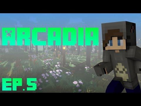 MineCraft Arcadia! - Ep.5 - Secrets!