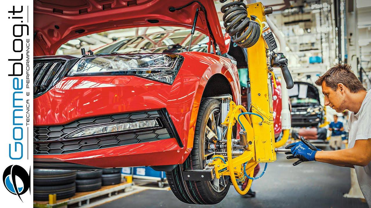 2020 Skoda Car Factory - PRODUCTION Plant (Kvasiny)