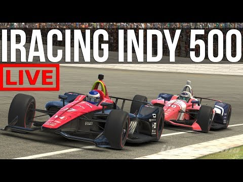 Trying To Survive The IRacing Indy 500