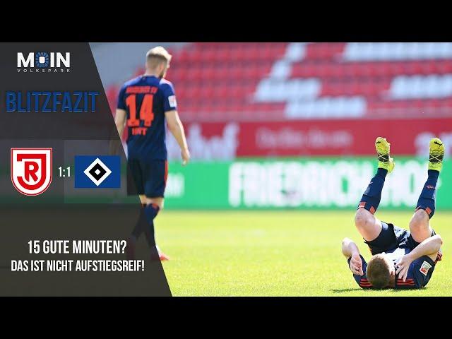 Scholles Blitzfazit zum Spiel | SSV Jahn Regensburg 1:1 HSV / Saison 20/21 | #017