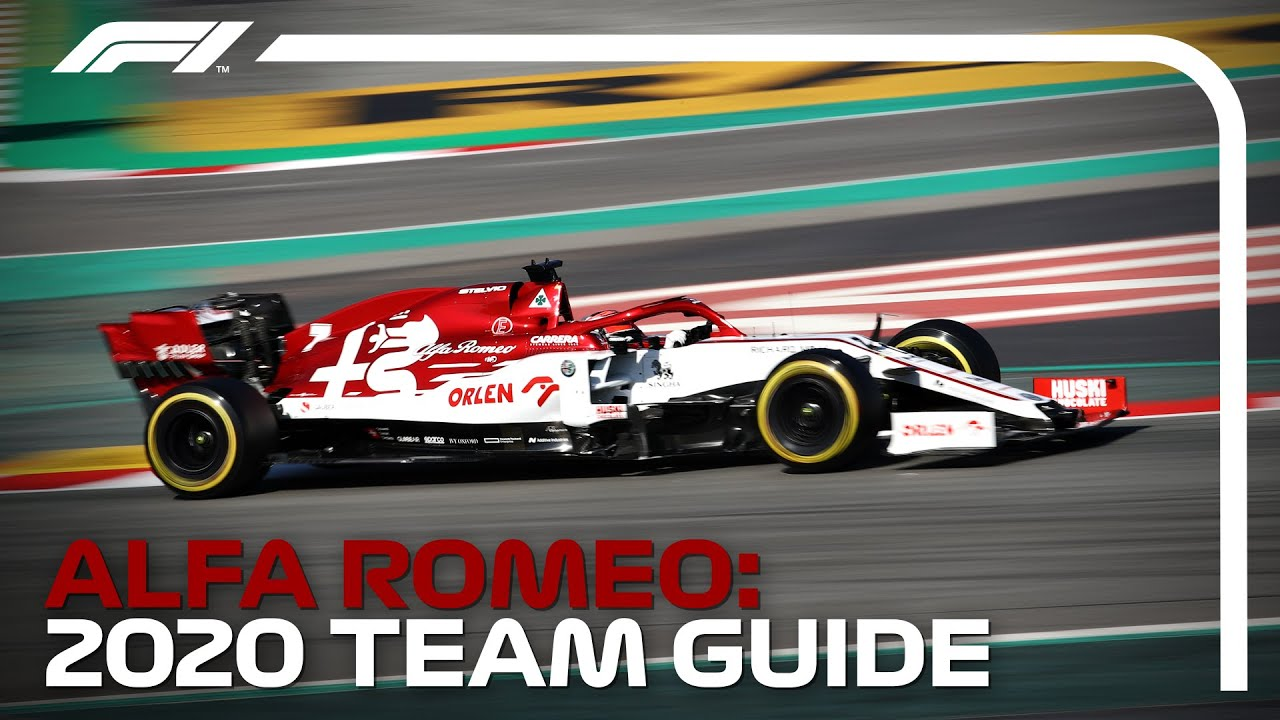 2020 Formula 1 Team Guide - YouTube