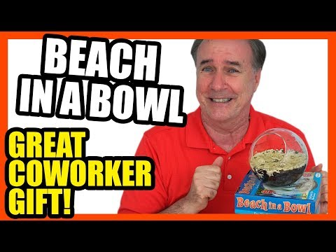 Beach in a Bowl Review- Perfect Coworker Gift! | EpicReviewGuys