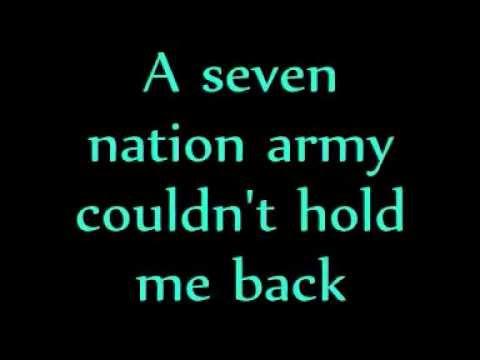 Ben L'Oncle Soul - Seven Nation Army [LYRICS]