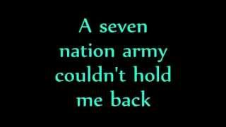 Ben L'Oncle Soul - Seven Nation Army [LYRICS]