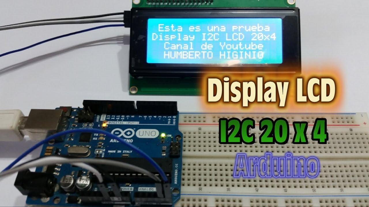 20x4 Lcd Arduino
