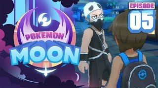 TEAM SKULL APPEARS!! - Pokemon Sun and Moon Playthrough (Episode 5)