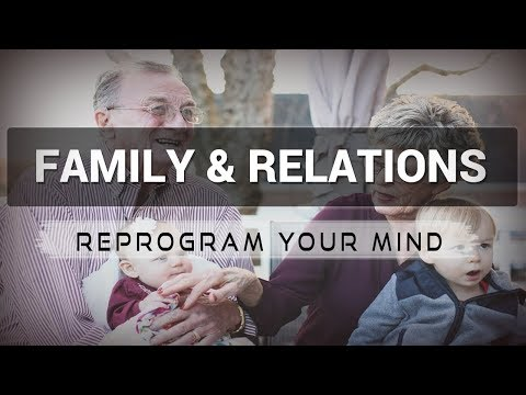 Positive Affirmations for Family & Relations - Law of attraction - Hypnosis - Subliminal