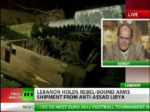 Lebanon seizes 150 tons of Libyan arms en route to Syrian rebels