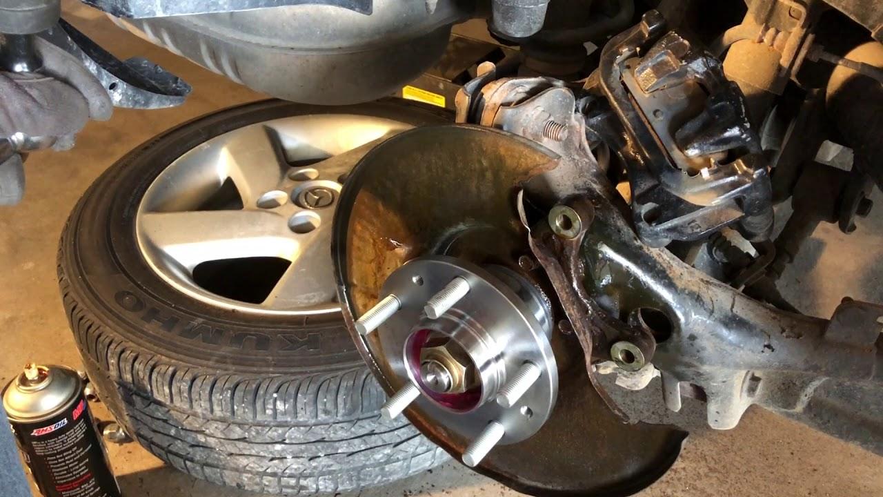 mazda 6 rear wheel bearing [ 1280 x 720 Pixel ]