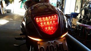 LED INDICATORS INSTALL SUZUKI BOULEVARD M109R VZR1800 2015