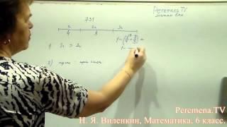Виленкин, Математика, 6 класс, задача 731