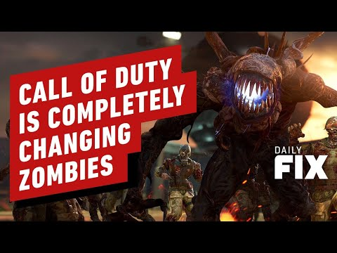 Call of Duty is Completely Changing Zombies - IGN Daily Fix