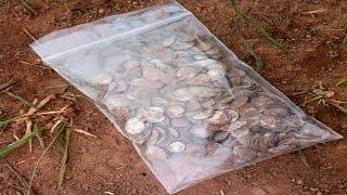 видео раскопки монет