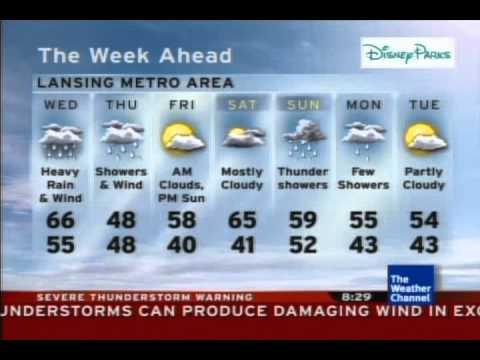 Modren Severe Thunderstorm Warning 42611 2028 Edt C In Design