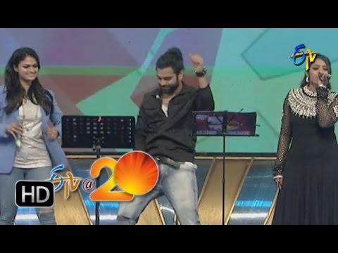 Sri Ramachandra,Ranina Reddy,Suchitra Performance - Angelina Song in Nellore ETV @ 20 Celebrations