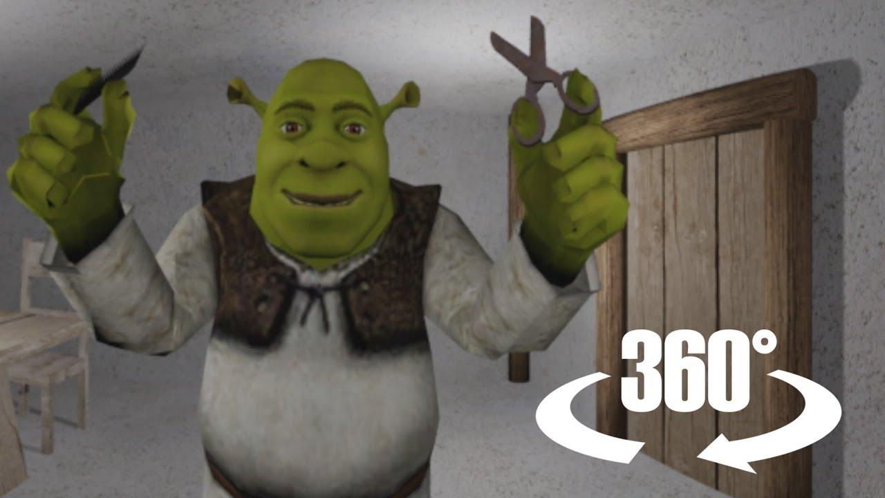 Shrek Does ASMR 3 In 360/VR (Haircut Roleplay)