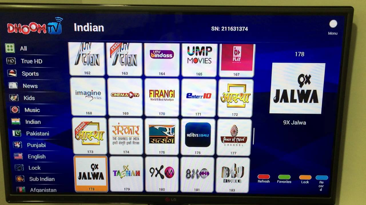 DhoomTv All Channels in FULL HD