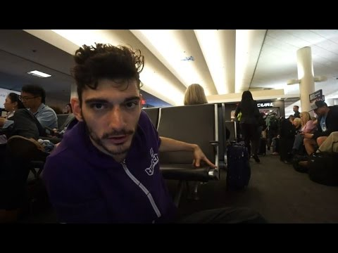 Ice Poseidon waiting (on the ground) at the airport [VOD: 27-04-2017]